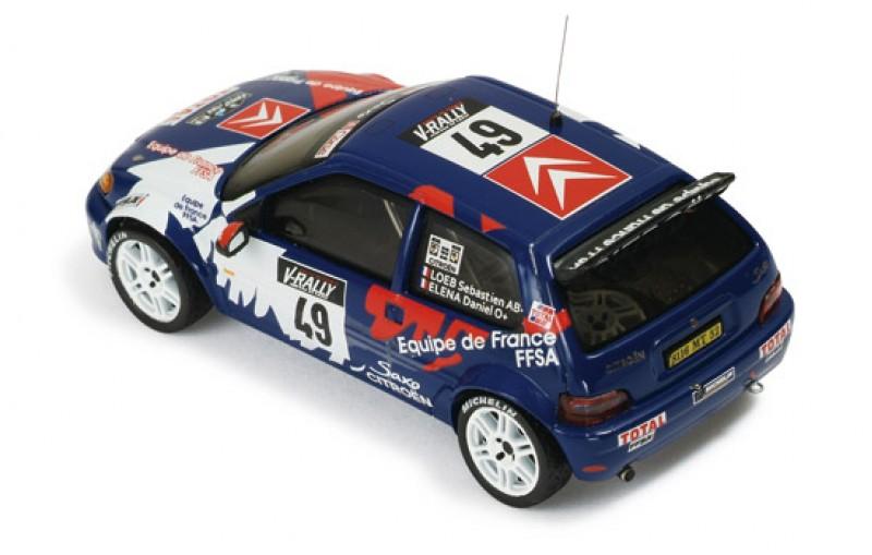 Citroen Saxo Kit Car #49 Tour De Corse 1999