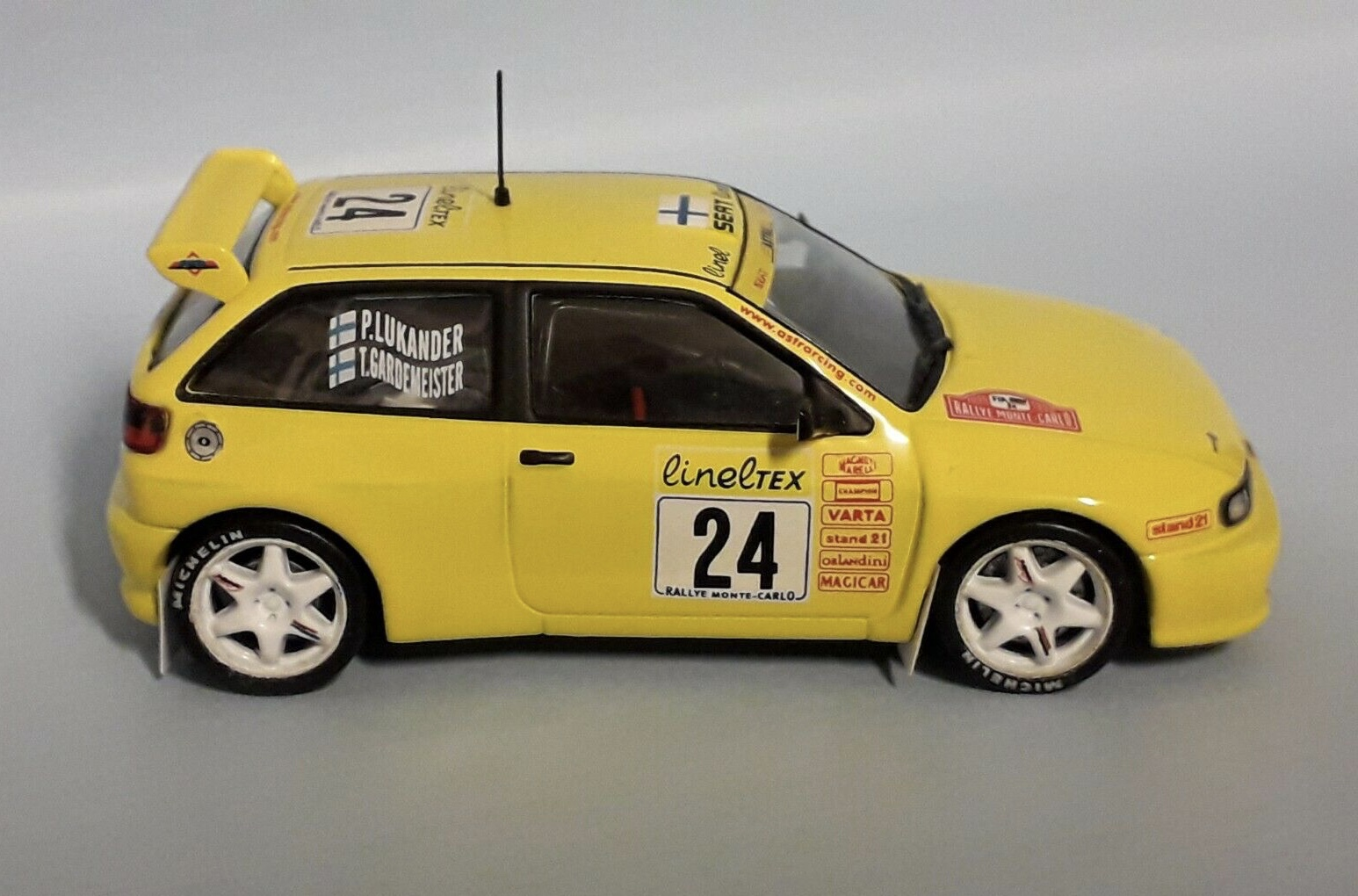 SEAT IBIZA GTI Kit Car #24 RALLY Monte Carlo 1999