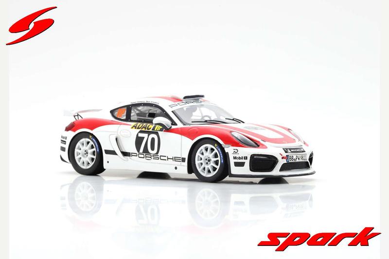 Porsche Cayman GT4 Clubsport #70 R-GT Rally of Germany 2018