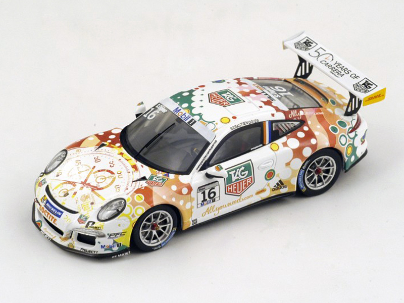 Porsche 911 GT3 Cup #16 - Porsche Supercup 2013