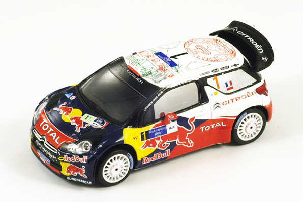 Citroen DS3 WRC, No.1 Mexico Rally Winner 2011  S.Loeb