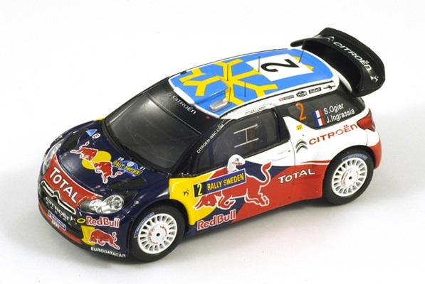 Citroen DS3 WRC, No.2 Sweden Rally 4th 2011  S.Ogier