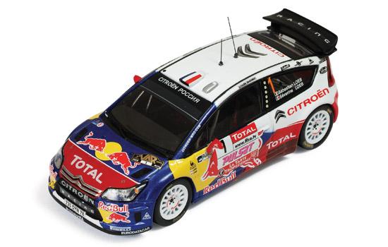 CITROEN C4 WRC 2009年 ラリー デュ・ヴァール 優勝 #1
