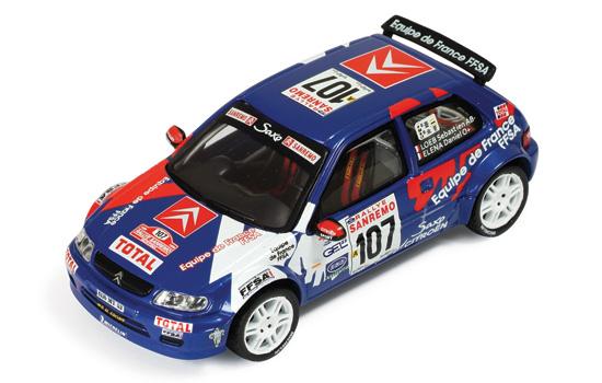 CITROEN サクソ KIT Car 1999年 ラリー・サンレモ #107