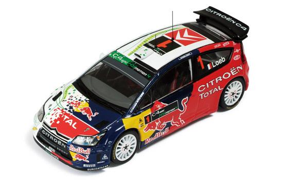 CITROEN C4 WRC #1 Hybrid4 Presentation 2008 S.ローブ