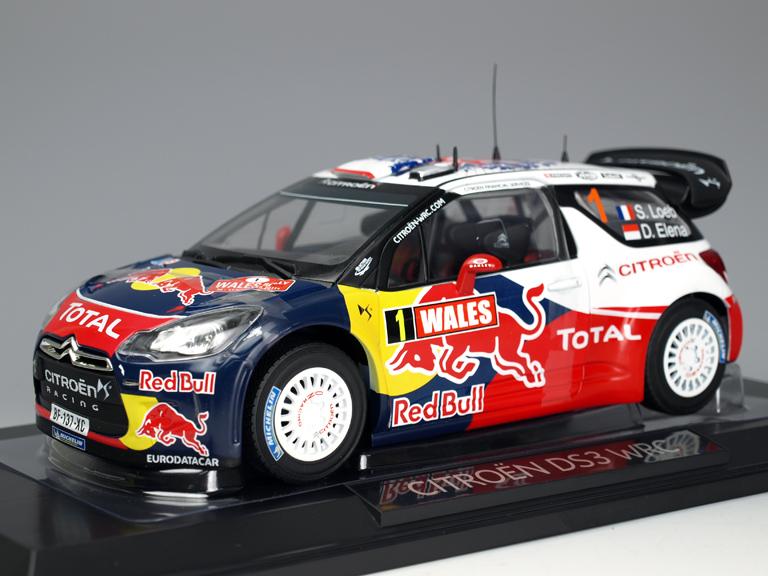 1/18 シトロエン DS3 WRC ラリーポルトガル 優勝 #2 S.オジェ