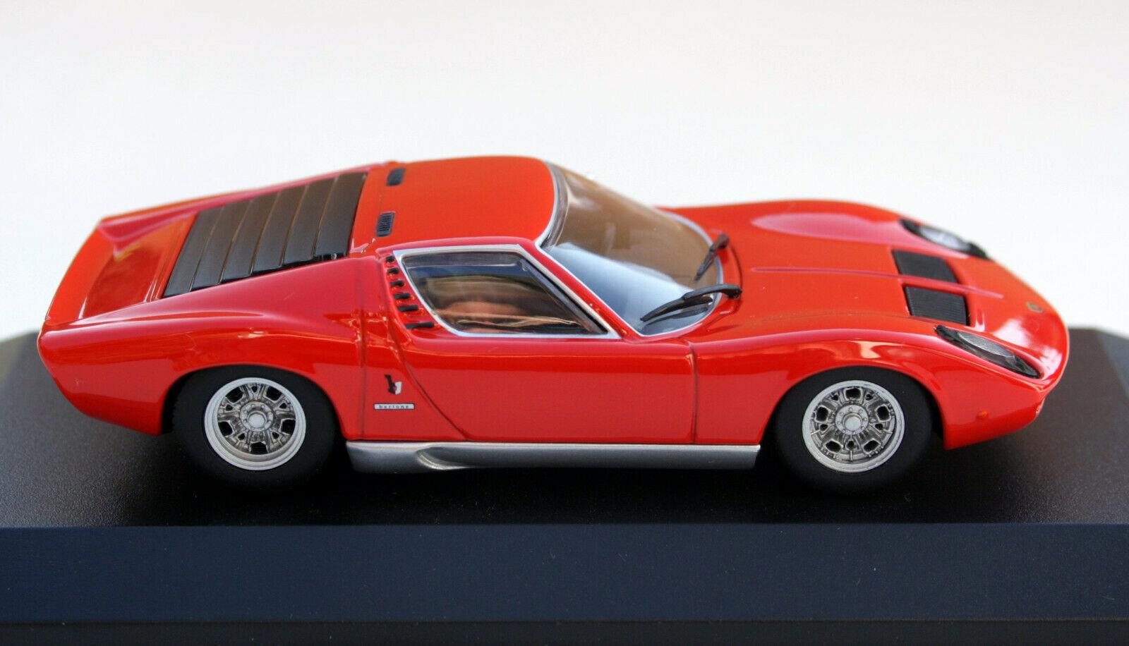 Lamborghini Miura Year 1966 Red
