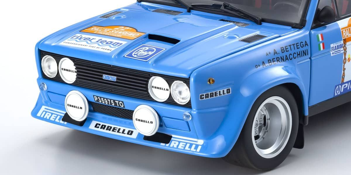 1/18 Fiat 131 Abarth Rally 1980 San Remo # 11