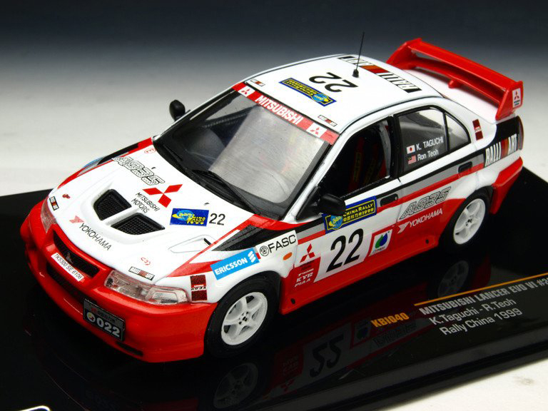 MITSUBISHI LANCER EVO � #22 Rally China 1999