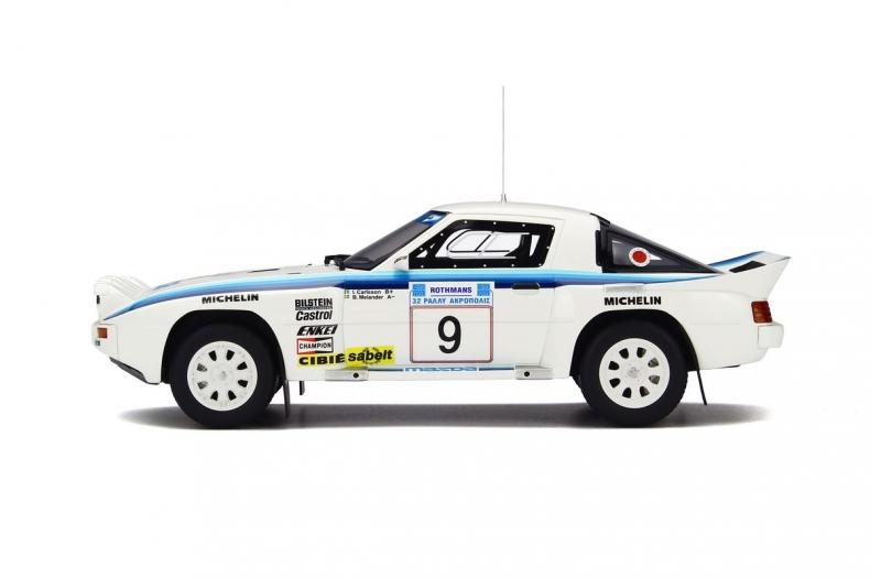 1/18 Mazda RX-7 Groupe B  Acropolis 1985  White/Blue