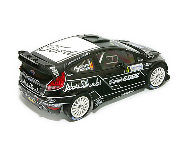 1/18 FORD FIESTA RS WRC -RALLY フランス 2011 #4 J.M ラトバラ
