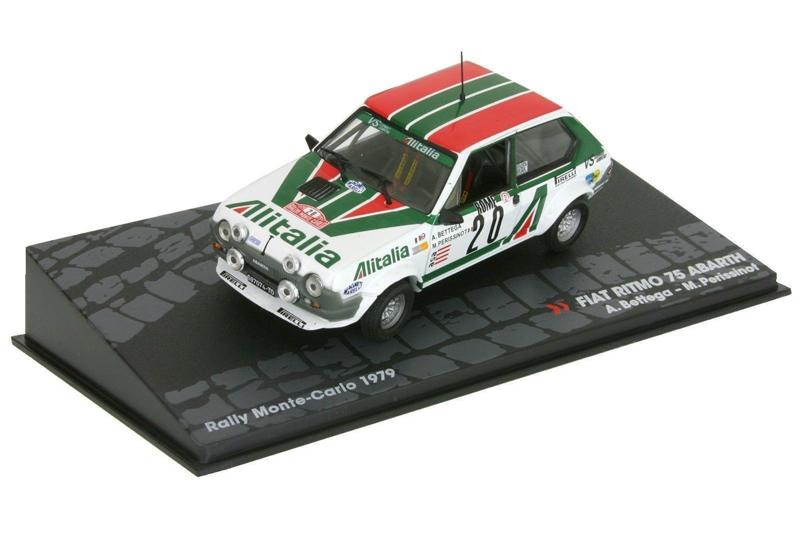 FIAT RITMO 75 ABARTH A.Bettega/M.Perissinot Rally MonteCarlo 1979