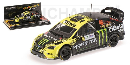 """FORD FOCUS RS WRC """"BETA/MONSTER"""" #46 MONZA RALLY 2009"""