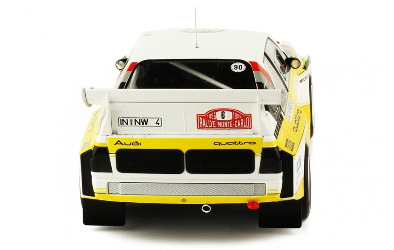 1/18 AUDI SPORT Quattro S1 #6 Rally Monte-Carlo 1986