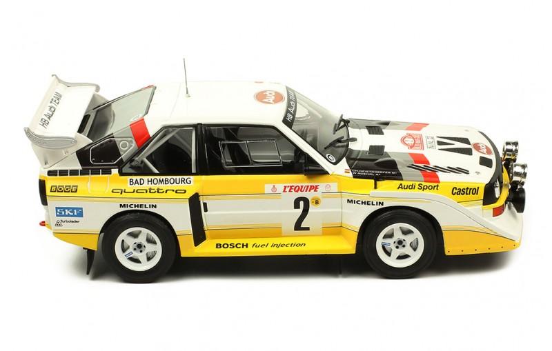 1/18 AUDI SPORT Quattro S1 #2 Rally Monte Carlo 1986