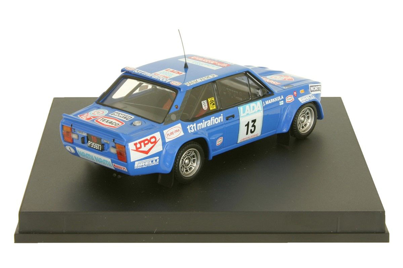 Fiat 131 Abarth #13 1977 2nd. 1000 Lakes 1977