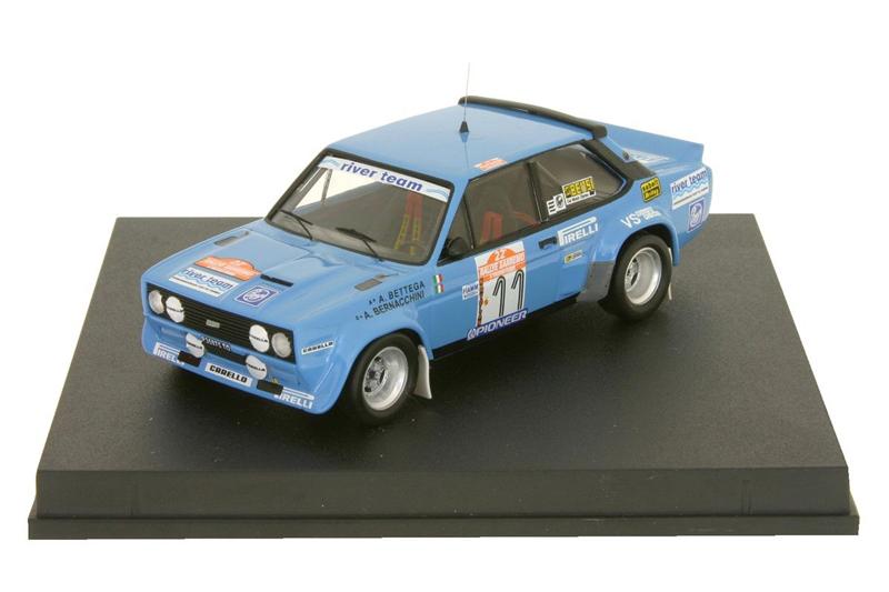Fiat 131 Abarth #11 San Remo Rally 1980