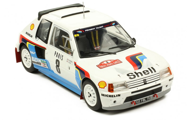 1/18 PEUGEOT 205 T16 #8 Rallye Monte Carlo 1985