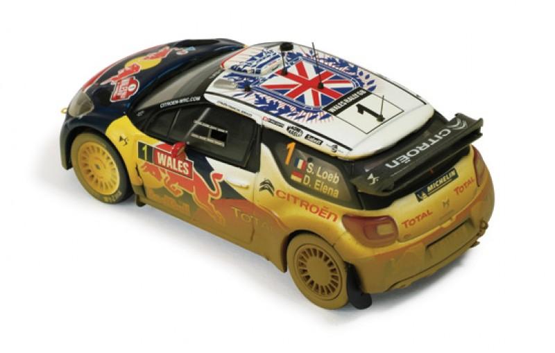 Citroen DS3 WRC #1 Wales Rally GB 2011 (汚れ仕様)