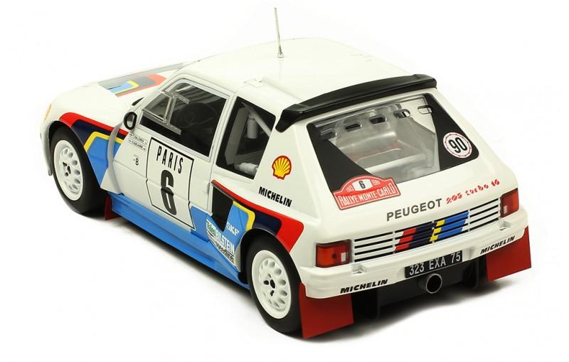 1/18 Peugeot 205 T16 #6 Rallye Monte Carlo 1985