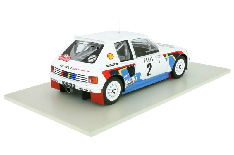 1/18 Peugeot 205 T16 #2 Rallye Monte Carlo 1985