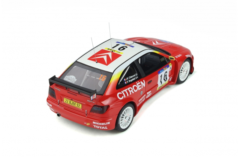 1/18 Citroen Xsara Kit Car Catalunya 1999 #16