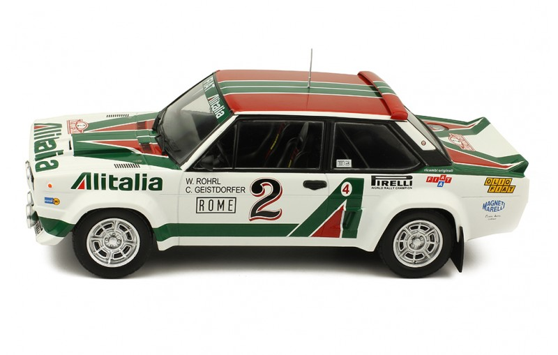 1/18 FIAT 131 Abarth #2 Rally Monte Carlo 1978
