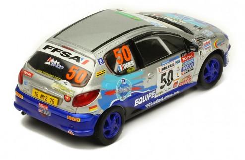 Peugeot 206XS Rallye Terre des Cardabelles #50 Winner