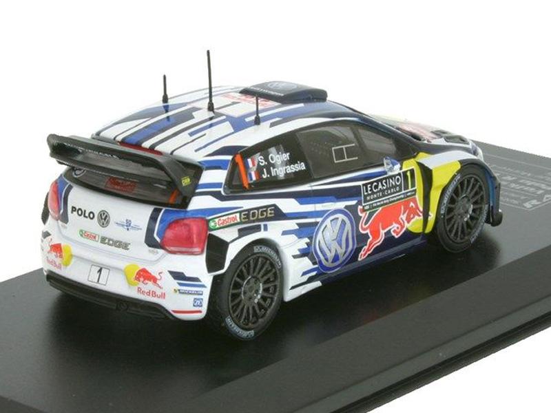 VW Polo R WRC - Rallye Monte Carlo 2016 # 1 Sebastien Ogier / Julien Ingrassia