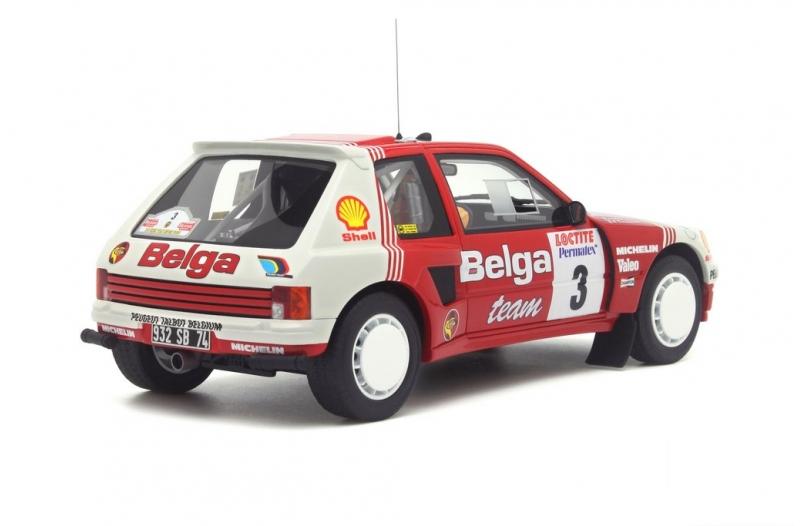 1/18 Peugeot 205 T16 Groupe B