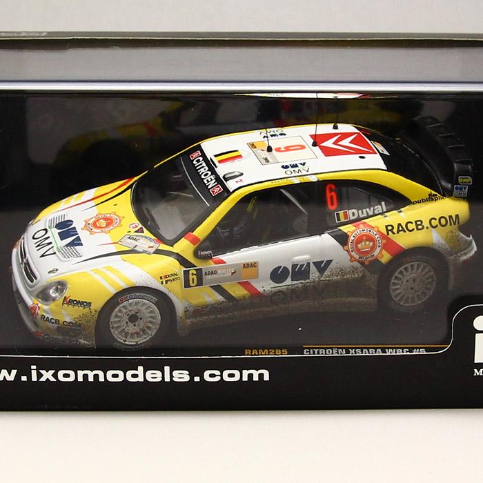 Citroen Xsara WRC #6 2nd Rally Germany 2007 *ウェザリング塗装