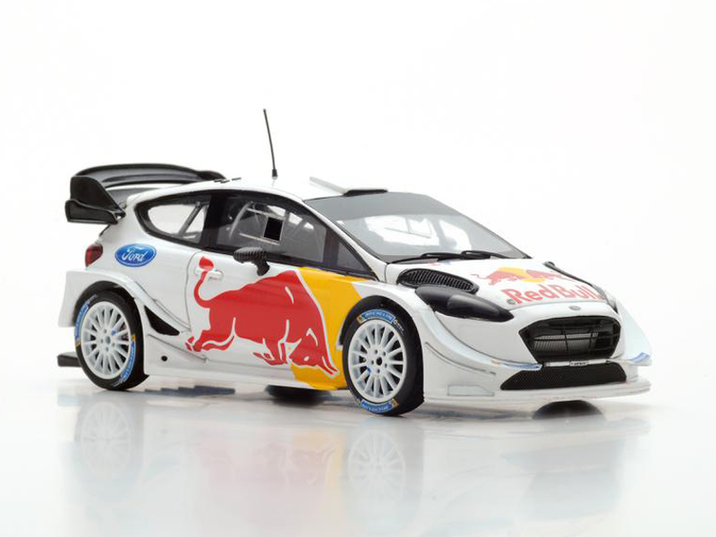 Ford Fiesta WRC Test Car for 2018 S. Ogier / J. Ingrassia