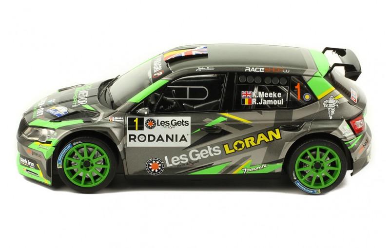1/18 SKODA FABIA R5 #1 Rally Condroz 2018