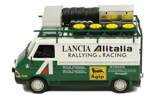 FIAT242  Rally Service Transporter  Alitalia - Lancia Rally Team