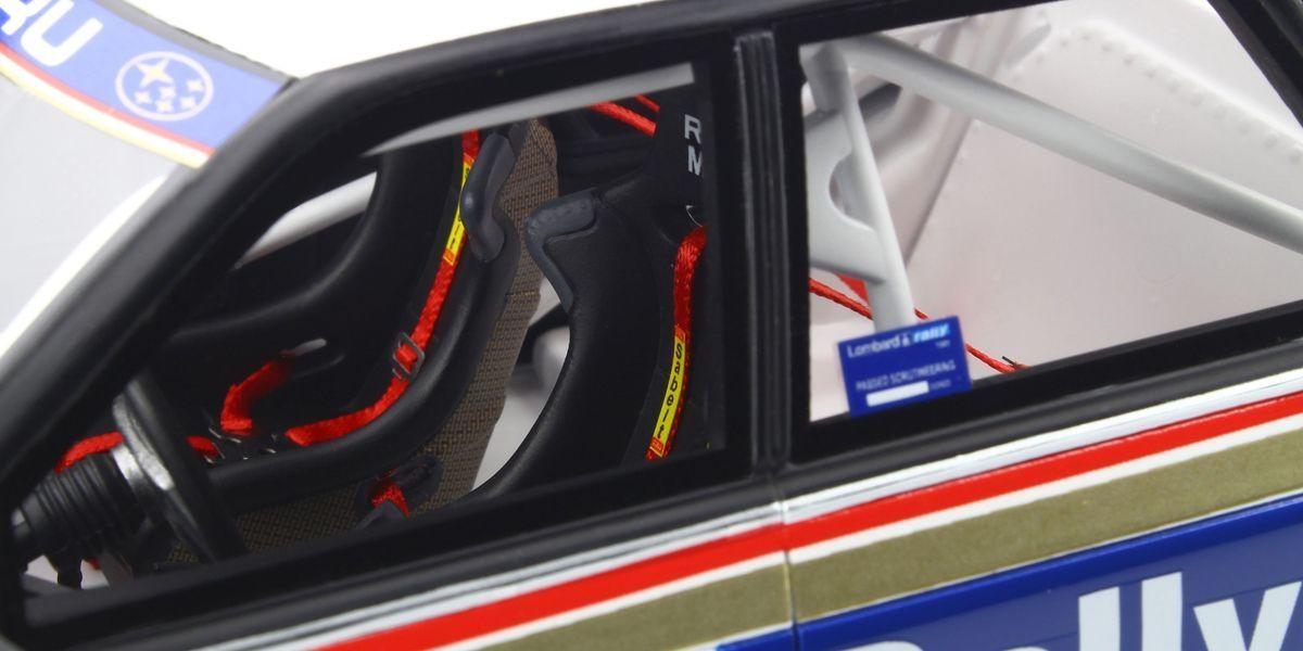 1/18 Subaru Legacy RS Gr.A RAC # 21 (White / Blue)