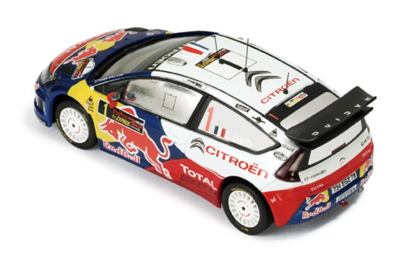 Citroen C4 WRC #1 Winner Rally Cyprus 2009