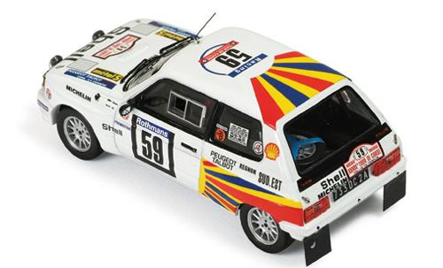 Talbot Samba Rally #59 Tour de Corse 1984