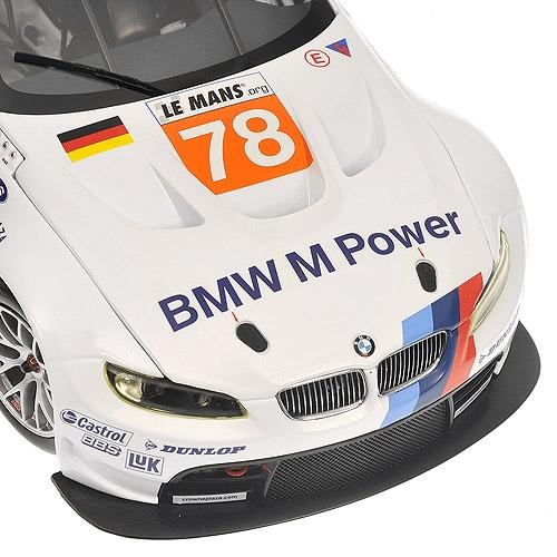 1/18 BMW M3 GT2 (E92) BMW MOTORSPORT 24H LE MANS 2010