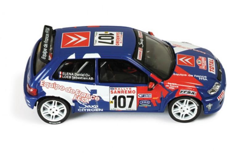 Citroen Saxo Kit Car #107 Rallye Sanremo 1999