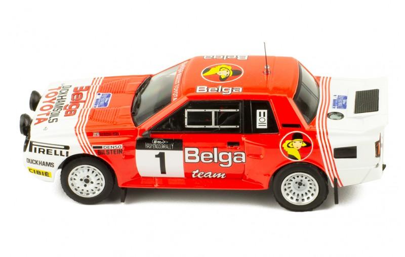 TOYOTA Celica TwinCam Turbo (TA64) #1 Haspengouw Rally 1985