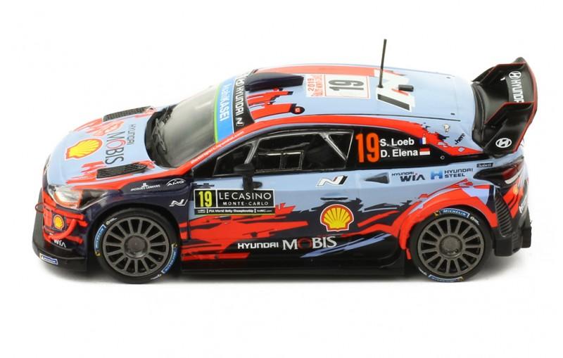 HYUNDAI i20 Coupe WRC #19 Rallye Monte-Carlo 2019 S. Loeb / D.Elena