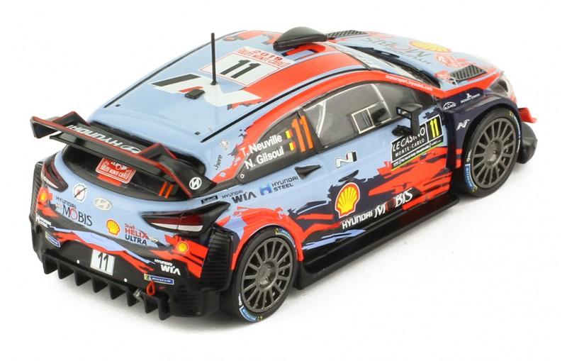 HYUNDAI i20 Coupe WRC # 11 Rallye Monte-Carlo 2019