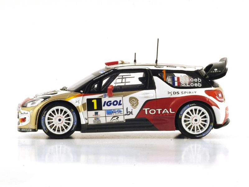 Citroen DS3 WRC No.1 Winner Rallye du Var 2014