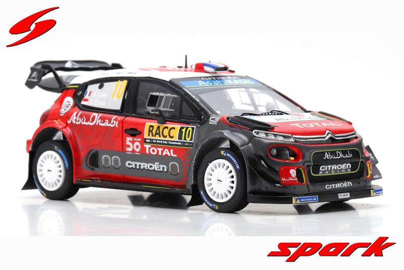 Citroen C3 WRC No.10 Winner Rally Catalunya 2018 S. Loeb / D. Elena