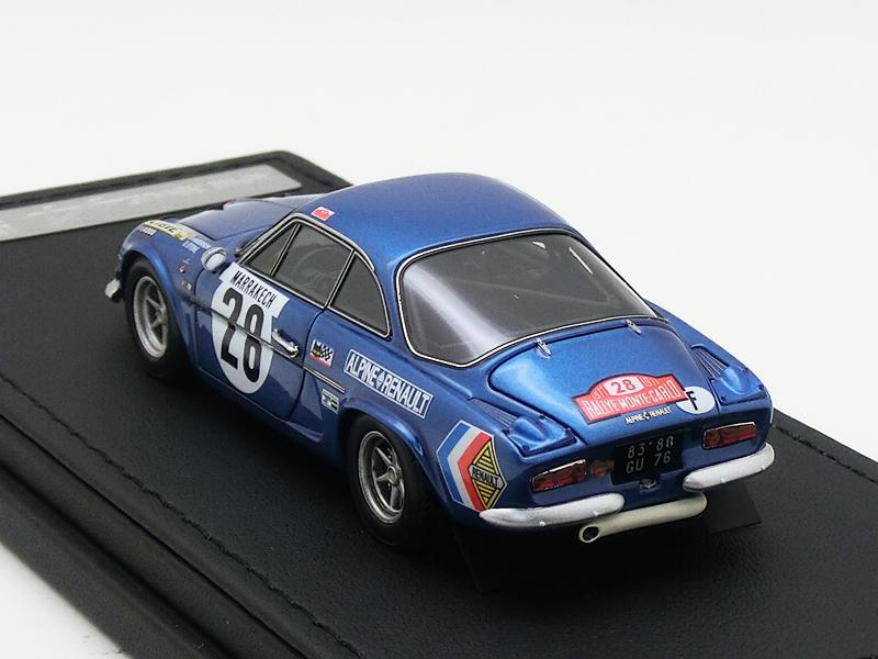Alpine Renault A110 1600S (#28) 1971 Monte Carlo