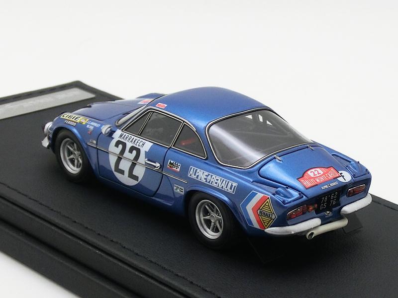 Alpine Renault A110 1600S (#22) 1971 Monte Carlo
