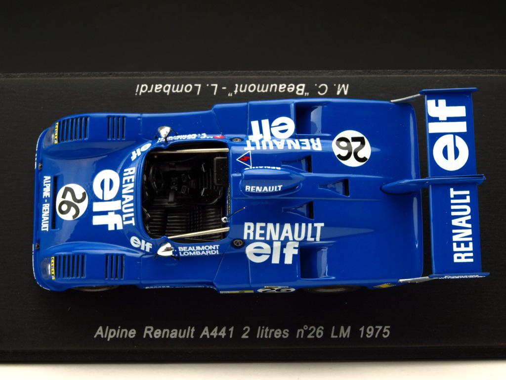 アルピーヌ A441 2リッター 1975年 ル・マン24時間 #26