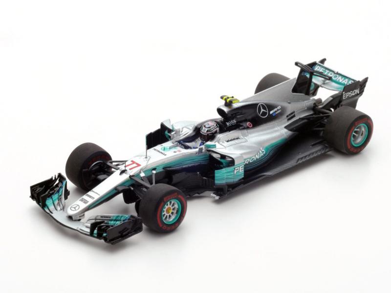 Mercedes AMG Petronas F1 Team n.77 Winner Russian GP 2017 Mercedes F1 W08 EQ Power+