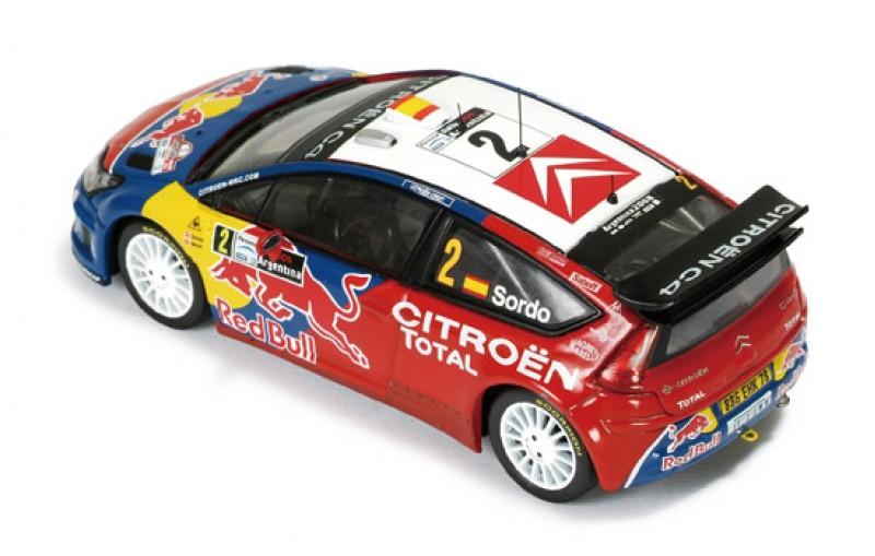 CITROEN C4 WRC #2 (RED BULL) RALLY ARGENTINE 2008