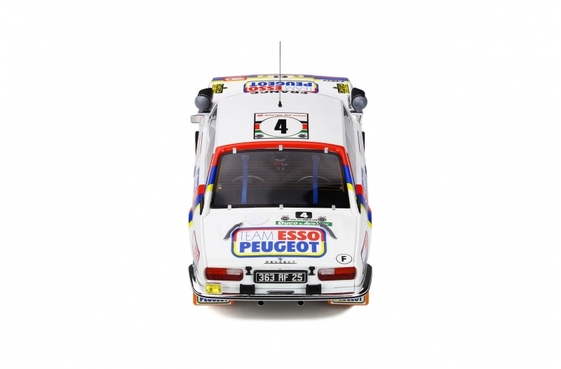 1/18 Peugeot 504 Gr4 Coupe V6 Safari Rally 1978